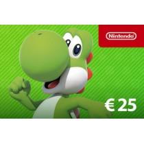 Nintendo Eshop Tegoed € 25,-