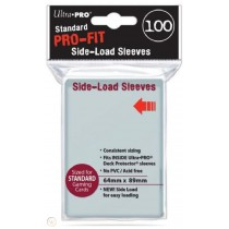 Pro-Fit Card Sleeves Clear