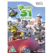 Planet 51 The Game Wii