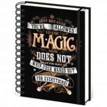 Harry Potter Magic Notebook