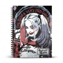 Harley Quinn Crazy A5 Notebook