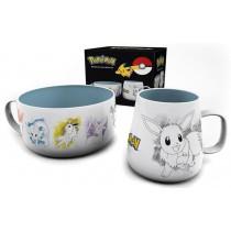 Pokemon Eevee Breakfast Set