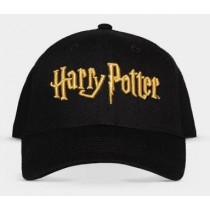 HARRY POTTER  Logo Gold  Cap