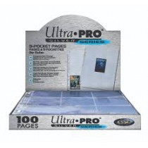 9 Pocket pages Ultra Pro...