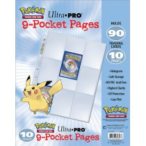 9 Pocket pages Ultra Pro (...