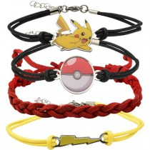 Pokemon 4 Pack Bracelets