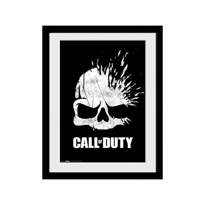 Call Of Duty Logo Skull Collector Print 30x40