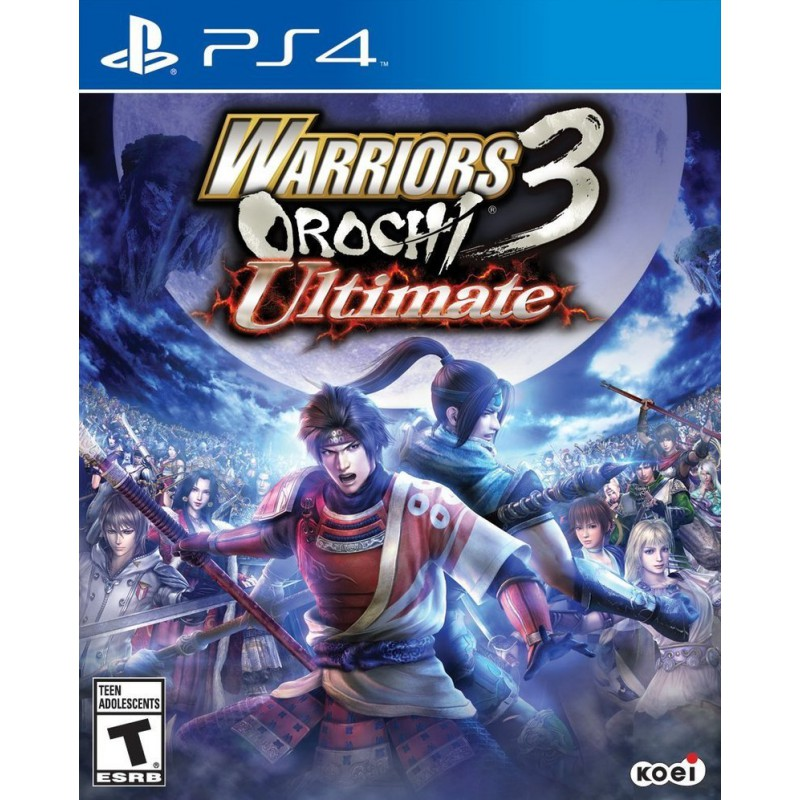 Warriors Orochi 3 Psp Nicoblog: Warriors Orochi 3 Ultimate PS4