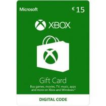 Xbox Gift Card 15 euro
