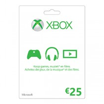 Xbox Gift Card 25 euro