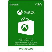 Xbox Gift Card 30 euro