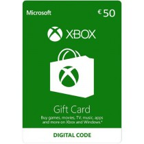 Xbox Gift Card 50 euro