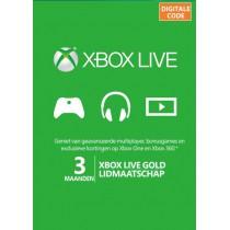 Xbox Live 3 Maanden Gold...