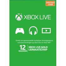 Xbox Live 12 Maanden Gold...