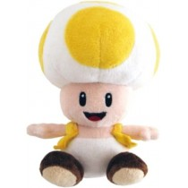 Nintendo Toad Yellow Plush