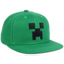 Minecraft Creeper Kids Cap