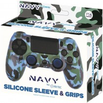 Silicone Skin & Grips Navy Ps4