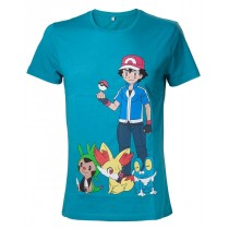 POKEMON Ash Ketchum T-Shirt