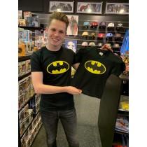 Batman Distressed logo Kids...