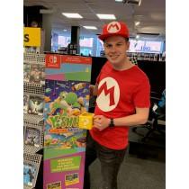 Nintendo Mario Logo Rood...