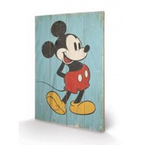 Mickey Mouse Wooden Art 40x60