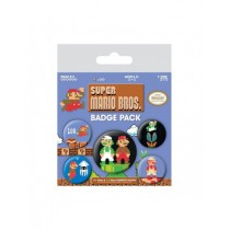 Super Mario Bros. Badge Packs