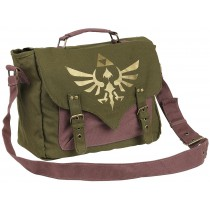 Zelda Canvas Messenger Bag...