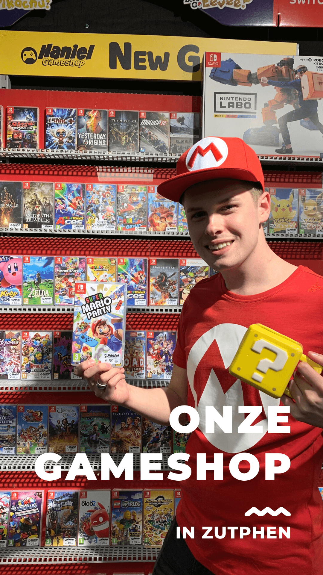 Gameshop Foto impressie